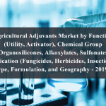 Agricultural Adjuvants Market by Function (Utility, Activator), Chemical Group (Organosilicones, Alkoxylates, Sulfonates), Application (Fungicides, Herbicides, Insecticides), Crop Type, Formulation, and Geography - 2019 to 2024
