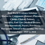 Real World Evidence Solutions Market by Component (Dataset (Pharmacy, Claims, Clinical, Patient), Services), End User (Medical Devices, Pharmaceuticals, Payers, Providers), Therapeutic Area (Cardiovascular, Oncology, Immunology) - 2019 to 2024