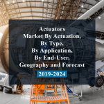 Actuators Market By Actuation, By Type, By Application, By End-User, Geography and Forecast 2019-2024