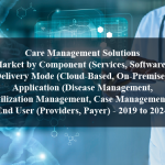 Care Management Solutions Market by Component (Services, Software), Delivery Mode (Cloud-Based, On-Premise), Application (Disease Management, Utilization Management, Case Management), End User (Providers, Payer) - 2019 to 2024