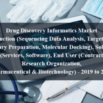 Drug Discovery Informatics Market by Function (Sequencing Data Analysis, Target Data, Library Preparation, Molecular Docking), Solution (Services, Software), End User (Contract Research Organization, Pharmaceutical & Biotechnology) - 2019 to 2024
