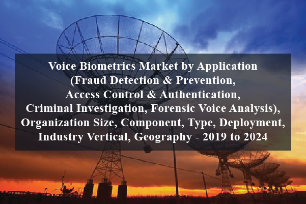 Buy Voice Biometrics Market By Application Fraud Detection Prevention Access Control Authentication Criminal Investigation Forensic Voice Analysis Organization Size Component Type Deployment Industry Vertical Geography 2019 To 2024