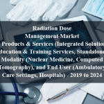 Radiation Dose Management Market by Products & Services (Integrated Solutions, Education & Training Services, Standalone), Modality (Nuclear Medicine, Computed Tomography), and End User (Ambulatory Care Settings, Hospitals) - 2019 to 2024