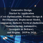 Generative Design Market by Application (Cost Optimization, Product Design & Development), Deployment Model, Component, Industry Vertical (Industrial Manufacturing, Automotive, Aerospace & Defense), and Region - 2019 to 2024