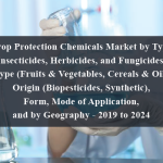 Crop Protection Chemicals Market by Type (Insecticides, Herbicides, and Fungicides), Crop Type (Fruits & Vegetables, Cereals & Oilseeds), Origin (Biopesticides, Synthetic), Form, Mode of Application, and by Geography - 2019 to 2024