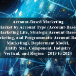 Account-Based Marketing Market by Account Type (Account-Based Marketing Lite, Strategic Account-Based Marketing, and Programmatic Account-Based Marketing), Deployment Model, Entity Size, Component, Industry Vertical, and Region - 2019 to 2024