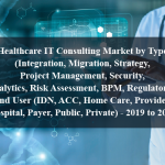 Healthcare IT Consulting Market by Type (Integration, Migration, Strategy, Project Management, Security, Analytics, Risk Assessment, BPM, Regulatory), End User (IDN, ACC, Home Care, Provider, Hospital, Payer, Public, Private) - 2019 to 2024