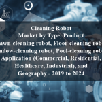 Cleaning Robot Market by Type, Product (Lawn-cleaning robot, Floor-cleaning robot, Window-cleaning robot, Pool-cleaning robot), Application (Commercial, Residential, Healthcare, Industrial), and Geography - 2019 to 2024