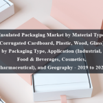 Insulated Packaging Market by Material Type (Corrugated Cardboard, Plastic, Wood, Glass), by Packaging Type, Application (Industrial, Food & Beverages, Cosmetics, Pharmaceutical), and Geography - 2019 to 2024