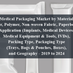 Medical Packaging Market by Material (Paper, Polymer, Non-woven Fabric, Paperboard), Application (Implants, Medical Devices, Medical Equipment & Tools, IVDs), Packing Type, Packaging Type (Trays, Bags & Pouches, Boxes), and Geography - 2019 to 2024