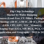 Flip Chip Technology Market by Wafer Bumping Process (Lead-Free, CU Pillar), Packaging Technology (2D IC, 2.5D IC, 3D IC), Product (LED, CPU, GPU, SOC, Memory), Packaging Type (LGA, SIP, BGA, PGA, CSP), Application and Geography - 2019 to 2024