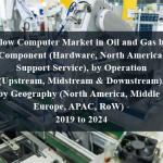 Flow Computer Market in Oil and Gas by Component (Hardware, North America, Support Service), by Operation (Upstream, Midstream & Downstream), and by Geography (North America, Middle East, Europe, APAC, RoW) - 2019 to 2024
