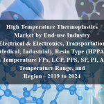 High Temperature Thermoplastics Market by End-use Industry (Electrical & Electronics, Transportation, Medical, Industrial), Resin Type (HPPA, High Temperature FPs, LCP, PPS, SP, PI, AKP), Temperature Range, and Region - 2019 to 2024