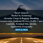 Smart Airports Market by Technology (Security, Cargo & Baggage Handling, Communication, Endpoint Devices, Traffic Control), Landside, Terminal Side, Airside, Application, Geography - 2019 to 2024