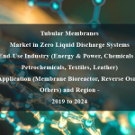 Tubular Membranes Market in Zero Liquid Discharge Systems,End-Use Industry (Energy & Power, Chemicals & Petrochemicals, Textiles, Leather) By Application (Membrane Bioreactor, Reverse Osmosis, Others) and Region - 2019 to 2024