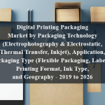 Digital Printing Packaging Market by Packaging Technology (Electrophotography & Electrostatic, Thermal Transfer, Inkjet), Application, Packaging Type (Flexible Packaging, Labels), Printing Format, Ink Type, and Geography - 2019 to 2026