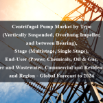 Centrifugal Pump Market by Type (Vertically Suspended, Overhung Impeller, and between Bearing), Stage (Multistage, Single Stage), End-User (Power, Chemicals, Oil & Gas, Water and Wastewater, Commercial and Residential), and Region - Global Forecast to 2024