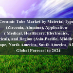 Ceramic Tube Market by Material Type (Zirconia, Alumina), Application ( Medical, Healthcare, Electronics, Electrical), and Region (Asia-Pacific, Middle East, Europe, North America, South America, Africa) - Global Forecast to 2024