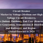 Circuit Breaker Market by Voltage (Medium and High Voltage Circuit Breakers), Type (Indoor, Outdoor), End-User (Renewable, Power Generation, Transmission & Distribution, and Railways), and Region - Global Forecast to 2024