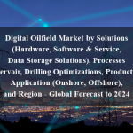 Digital Oilfield Market by Solutions (Hardware, Software & Service, Data Storage Solutions), Processes (Reservoir, Drilling Optimizations, Production), Application (Onshore, Offshore), and Region - Global Forecast to 2024