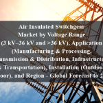 Air Insulated Switchgear Market by Voltage Range (3 kV–36 kV and >36 kV), Application (Manufacturing & Processing, Transmission & Distribution, Infrastructure & Transportation), Installation (Outdoor, Indoor), and Region - Global Forecast to 2024