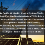 Asia-Pacific Air Quality Control Systems Market by Technology (Flue Gas Desulphurization(FGD), Fabric Filters, Nitrogen Oxide Control Systems, Electrostatic Precipitators, Scrubbers and Mercury Control Systems), by Application (Cement Manufacturing, Power Generation, Chemicals, Iron & Steel, Others), by Region - Trends and Forecasts till 2024